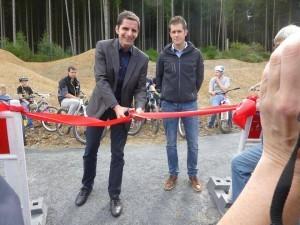 Eröffnung Mountainbikepark