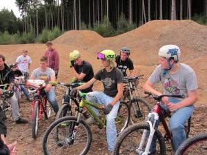 Eröffnung Mountainbikepark2