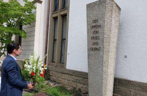 Gedenkstele Explosion Munitionslager Lichtringhausen
