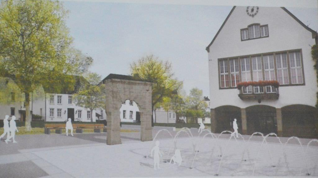 Umbau des Kloster- und Rathausplatzes