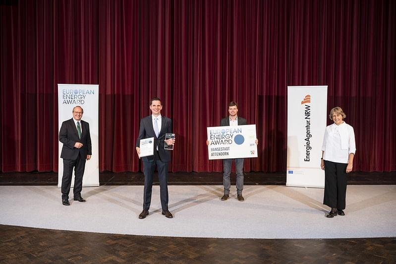 Attendorn mit European Energy Award ausgezeichnet