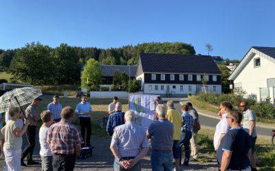 Biekhofen bekommt einen Dorfplatz